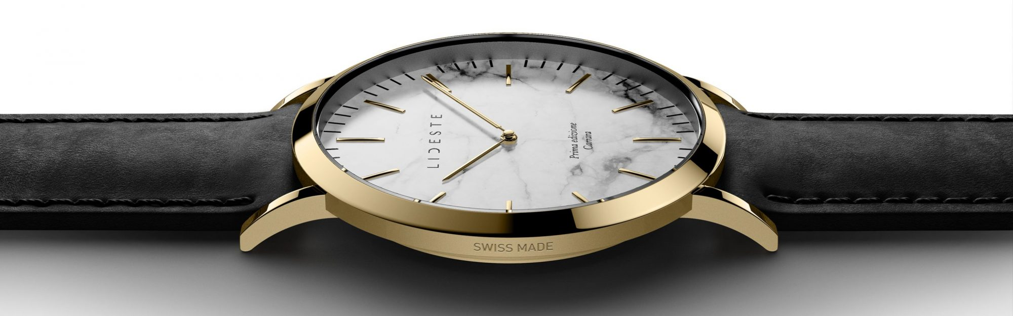 gold leather watch for men and women
